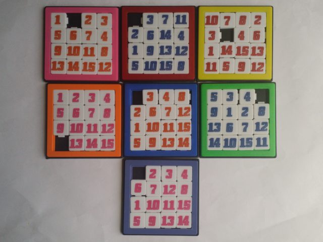 15-number sliding puzzle