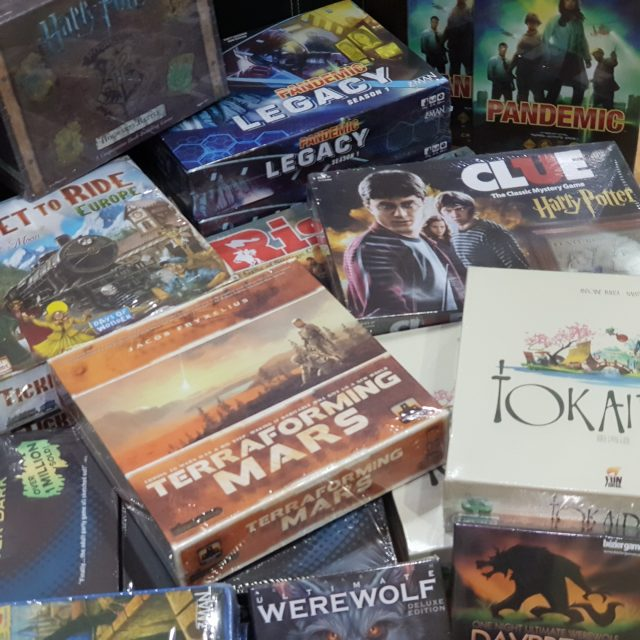 More board games added in stock
