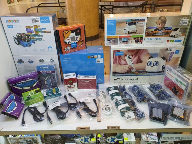 We have added STEM products in store