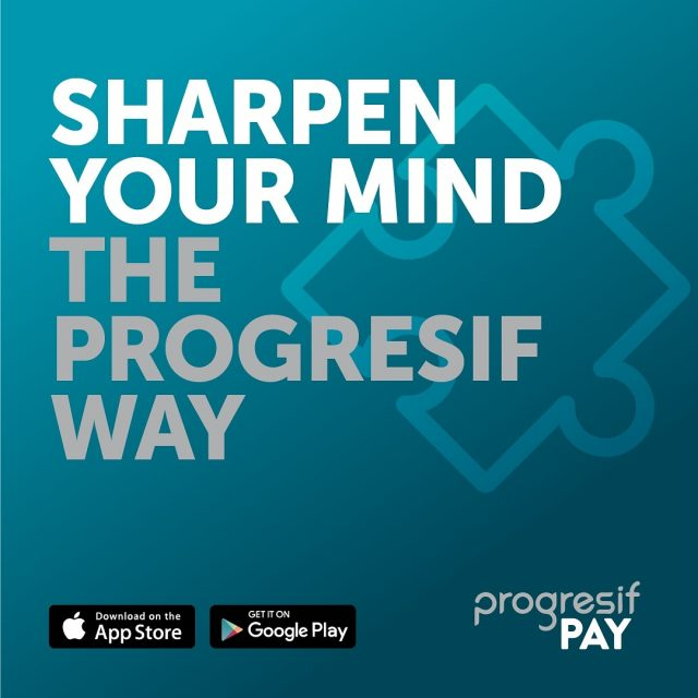 We are accepting ProgresifPAY