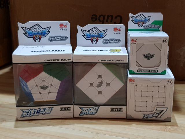 A few addition to Cyclone Boys collection including its magnetic 3x3x3 and Skewb