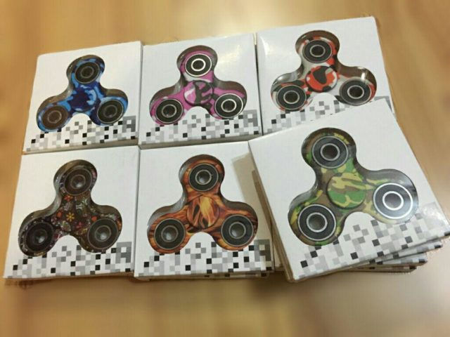 Camouflage tri-spinners are here