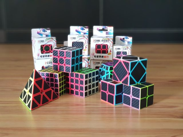 Carbon fiber cubes from Z-Cube