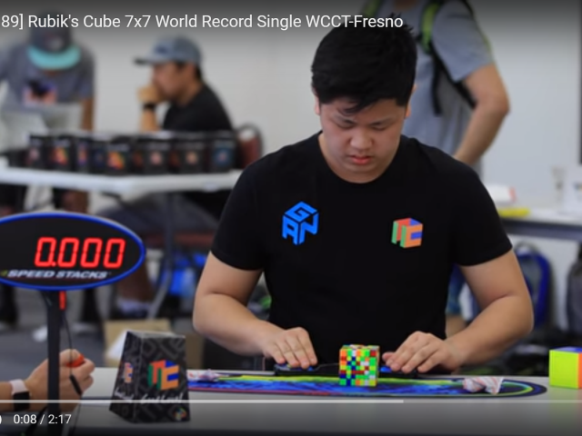 Cubing can be therapeutic for the autism spectrum disorder