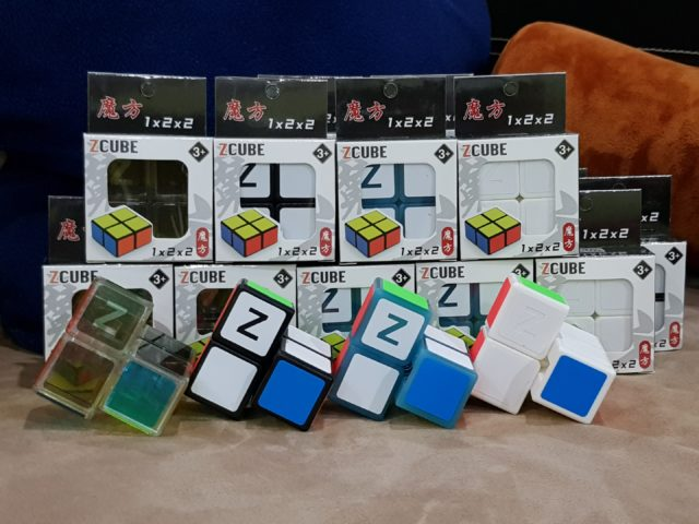 It's difficult to … scramble these cubes