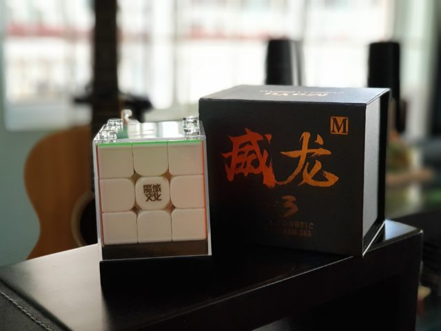 New MoYu WeiLong GTS cube: the GTS3  M
