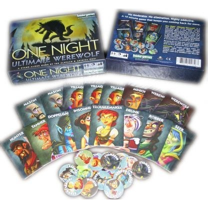 One Night Ultimate Werewolf Playing Card Board Game