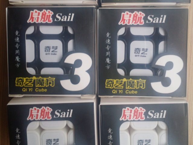 Qiyi Sail 3x3x3 added to our magic cube selection