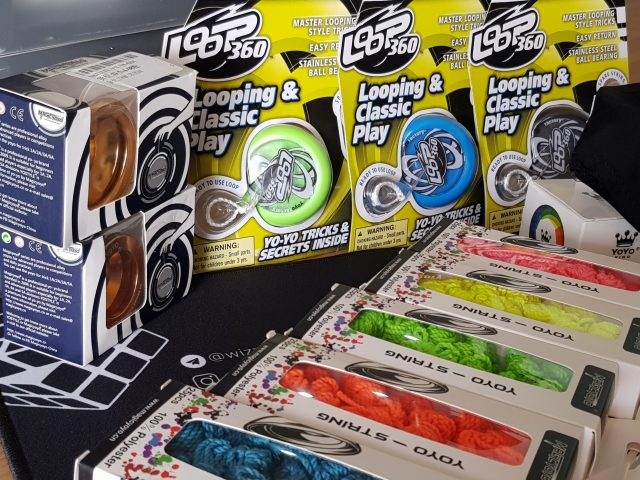 Some of the yoyos we have in stock