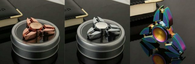Zinc alloy ninja star tri-spinners are so smooth